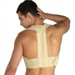 Stödband för övre rygg med skenor